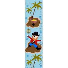 Pirate and Treasure Growth Chart