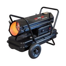 125,000 BTU Portable Kerosene Forced Air Utility Heater