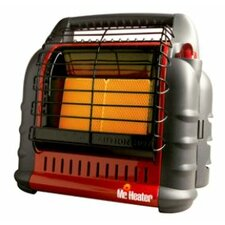 18,000 BTU Portable Propane Compact Heater for Canadian and Massachusetts Residents