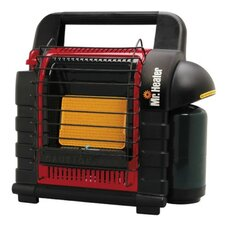 Mr. Heater 9,000 BTU Portable Radiant Compact Heater with Fold Down Handle