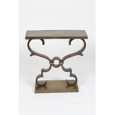 Rectangular with Scrolls End Table