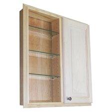 """Baldwin 29.5"""" x 31.5"""" Single Door Recessed Cabinet"""