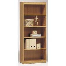 """Classic Soft 5 Shelf Wide 72"""" Standard Bookcase"""