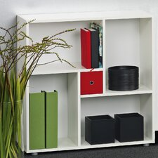 Blink Bookcase Cube in White