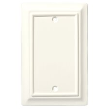 Wood Architectural Single Blank Wall Plate