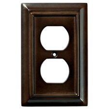 Wood Architectural Single Duplex Wall Plate