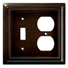 Wood Architectural Single Switch/Duplex Wall Plate