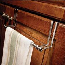 """Decorative 9.84"""" Over-the-door Towel Bar"""