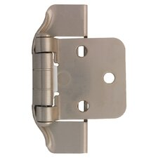 "Decorative Semi-Wrap Overlay 2.75"" Hinge (Set of 4)"