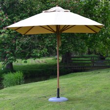 8.5' Levante Square Bamboo Market Umbrella