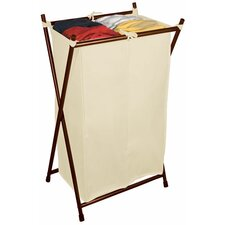 Double Folding Hamper with Bag