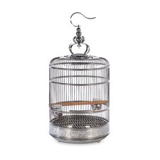 "Pet Lotus 28.5"" Bird Cage with Removable Tray"