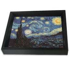 Van Gogh 'Starry Night' Original Paintings Shadow Box