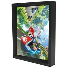 Mario Kart Framed Graphic Art