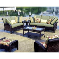 Martinique Deep Seating Group with Cushion