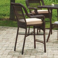Montego Bay 5 Piece Counter Height Dining Set with Cushion
