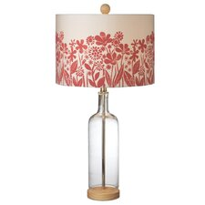 "Field Flowers 30"" Table Lamp with Drum Shade (Set of 2)"