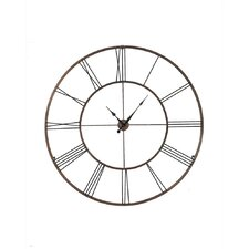 "Oversized 50"" Roman Numeral Wall Clock"