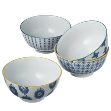 Hand Painted Bowl (Set of 8)