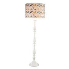 Bird Pattern Floor Lamp