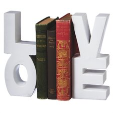 """Love"" Book Ends"