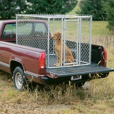 Steel Chain Link Portable Yard Kennel