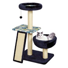 "Feline Nuvo 40"" Euphoria Cat Tree"