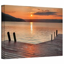 Another Keuka Sunrise by Steve Ainsworth Canvas Art