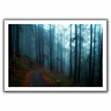 'Woods' by John Black Canvas Poster