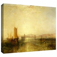 'Brighton from the Sea' by William Turner Gallery-Wrapped on Canvas