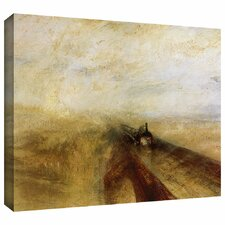 'Rain Steam and Speed, The Great Western Railway' by William Turner Gallery-Wrapped on Canvas