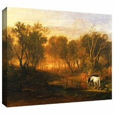 'The Forest of Bere' by William Turner Gallery Wrapped on Canvas