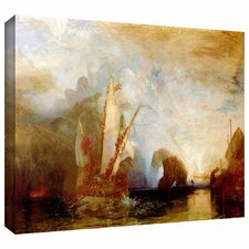 'Ulysses Deriding Polyphemus' by William Turner Gallery-Wrapped on Canvas