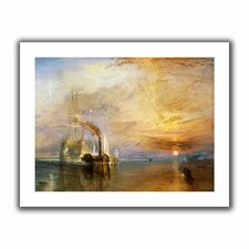 'The Fighting Temeraire' by William Turner Canvas Poster