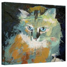 """Himalayan Cat"" by Michael Creese Gallery Painting Print on Canvas"