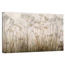 """Wildflowers Ivory"" by Cora Niele Painting Print on Canvas"
