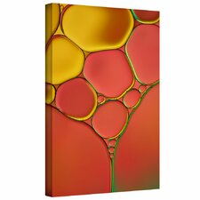 'Stained Glass I' by Cora Niele Gallery Wrapped on Canvas