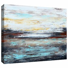 'Abstract Cold' by Jolina Anthony Painting Print on Canvas