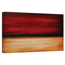 'Desertsunset' by Jolina Anthony Painting Print on Canvas