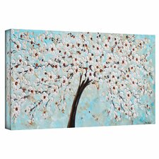 'Blossoms' by Jolina Anthony Painting Print on Gallery Wrapped Canvas