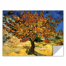 ArtApeelz 'Mulberry Tree' by Vincent Van Gogh Painting Print on Canvas