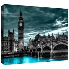 'London' by Revolver Ocelot Graphic Art on Wrapped Canvas
