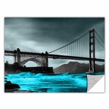 ArtApeelz 'San Francisco Bridge II' by Revolver Ocelot Graphic Art on Photo-tex