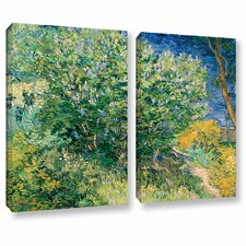 Lilacs by Vincent Van Gogh 2 Piece Gallery-Wrapped Canvas Set