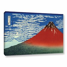 Red Fuji by Katsushika Hokusai Painting Print on Gallery Wrapped Canvas