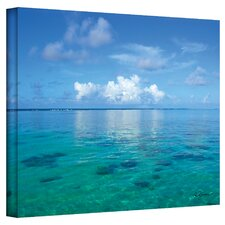"""Lagoon & Reef"" by George Zucconi Photographic Print on Canvas"