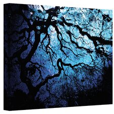 'Japanese Ice Tree' by John Black Photographic Print on Wrapped Canvas