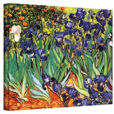 """Irises"" by Vincent van Gogh Painting Print on Wrapped Canvas"