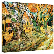 """The Road Menders"" by Vincent Van Gogh Painting Print on Wrapped Canvas"