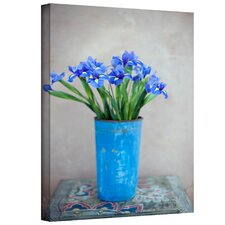 Iris Flowers by Elena Ray on Canvas